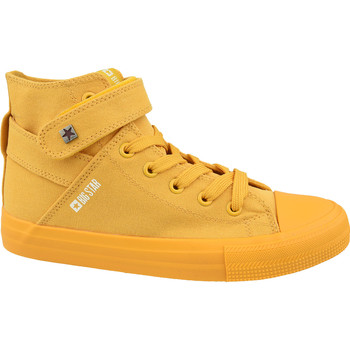 Sko Dame Høje sneakers Big Star Shoes jaune