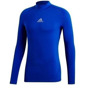 textil Herre Sweatshirts adidas Originals Alphaskin Climawarm Blå