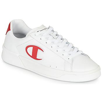 Sko Herre Lave sneakers Champion M 979 LOW Hvid / Rød