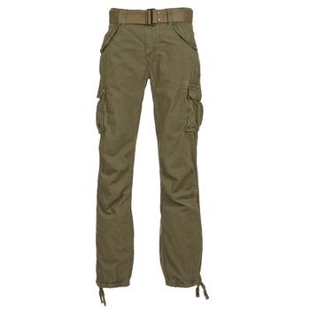 textil Herre Cargo bukser Schott BATTLE Kaki