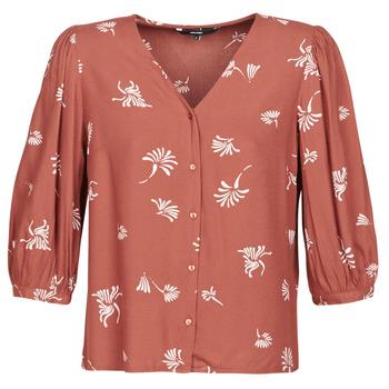 textil Dame Skjorter / Skjortebluser Vero Moda VMJILLEY Bordeaux