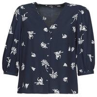 textil Dame Skjorter / Skjortebluser Vero Moda VMJILLEY Marineblå