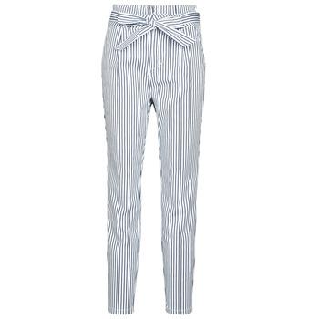textil Dame Chinos / Gulerodsbukser Vero Moda VMEVA Hvid / Grå