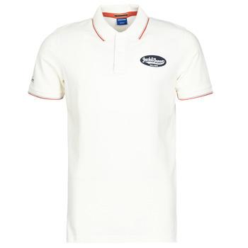 textil Herre Polo-t-shirts m. korte ærmer Jack & Jones JORAYDON Hvid