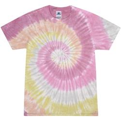 textil Dame T-shirts m. korte ærmer Colortone Rainbow Desert Rose