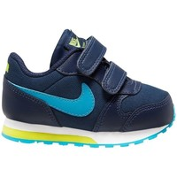 Sko Dreng Løbesko Nike MD Runner 2 Flåde