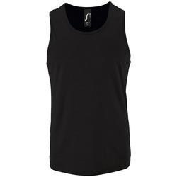 textil Herre Toppe / T-shirts uden ærmer Sols SPORT TT MEN Negro