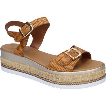 Sko Dame Sandaler Sara sandali pelle sintetica Marrone
