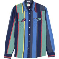 textil Herre Træningsdragter Wrangler Chemise  Western 2 Pocket multicolore