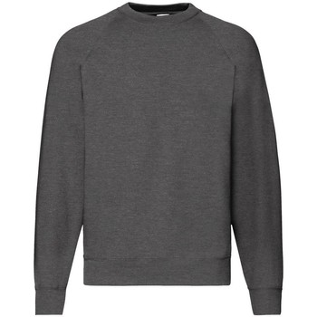 textil Herre Sweatshirts Fruit Of The Loom 62216 Dark Heather