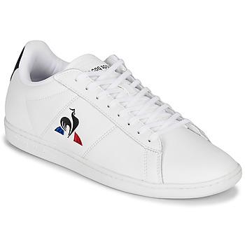 Sko Herre Lave sneakers Le Coq Sportif COURTSET Hvid / Marineblå