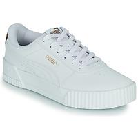 Sko Dame Lave sneakers Puma CARINA Hvid / Leopard