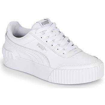 Sko Dame Lave sneakers Puma CARINA LIFT Hvid