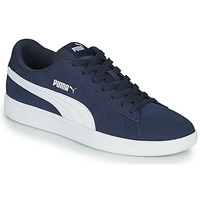 Sko Herre Lave sneakers Puma SMASH Marineblå