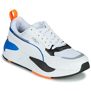 Sko Børn Lave sneakers Puma X-RAY Hvid / Blå / Sort