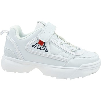 Sko Børn Lave sneakers Kappa Rave NC K Hvid