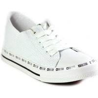 Sko Dame Lave sneakers Big Star FF274024 Hvid
