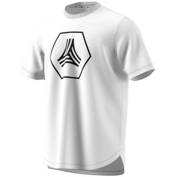textil Herre T-shirts m. korte ærmer adidas Originals Tango Big Logo Tee Hvid