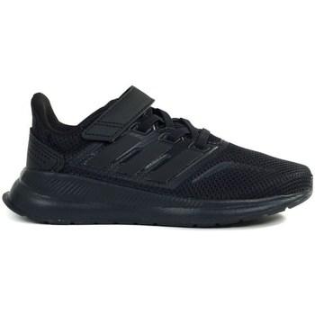 Sko Børn Løbesko adidas Originals Runfalcon C Sort