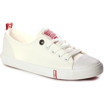 Sko Dame Lave sneakers Big Star FF274087 Creme