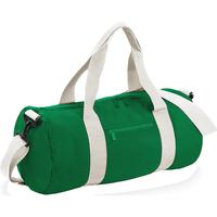 Tasker Rejsetasker Bagbase BG140 Kelly Green/Off White