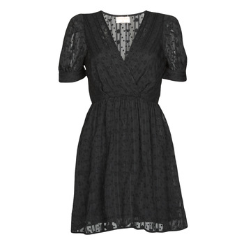 textil Dame Korte kjoler Moony Mood ACTINE Sort