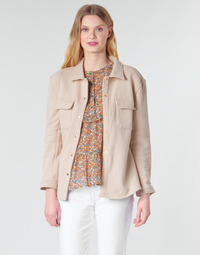textil Dame Jakker / Blazere Betty London MOUCHE Beige