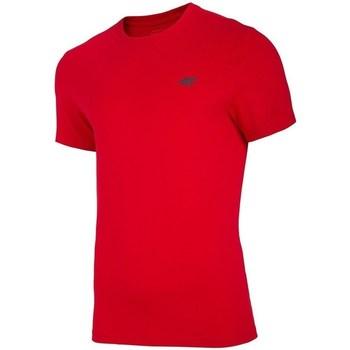 textil Herre T-shirts m. korte ærmer 4F TSM003 Rød