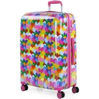 Tasker Dame Hardcase kufferter Agatha Ruiz de la Prada Hjerterfrifarver kapacitet 60 L Fuchsia