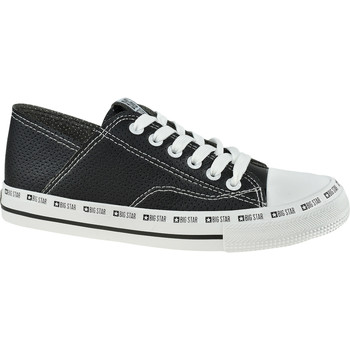 Sko Dame Sneakers Big Star Shoes noir
