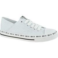Sko Dame Sneakers Big Star Shoes blanc