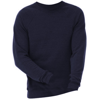 textil Sweatshirts Bella + Canvas CA3901 Navy Triblend