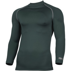 textil Herre Langærmede T-shirts Rhino RH001 Bottle Green