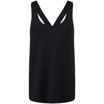 textil Pige Toppe / T-shirts uden ærmer Skinni Fit SM241 Black