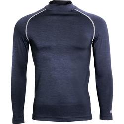 textil Herre Langærmede T-shirts Rhino RH001 Navy Heather