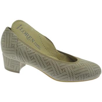 Sko Dame Højhælede sko Calzaturificio Loren LO60713li grigio