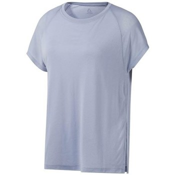 textil Dame T-shirts m. korte ærmer Reebok Sport One Series Burnout Grå