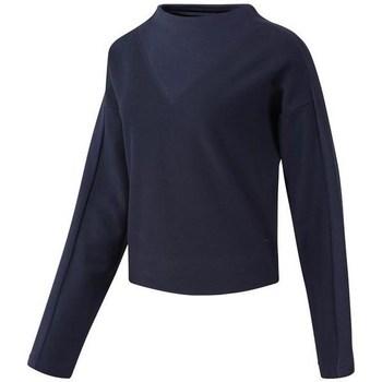 textil Dame Sweatshirts Reebok Sport TE Twill Cowl Neck Flåde