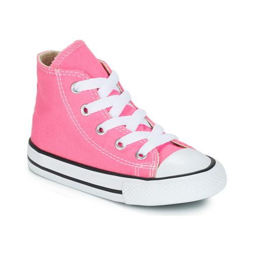 Sko Pige Høje sneakers Converse CHUCK TAYLOR ALL STAR CORE HI Pink