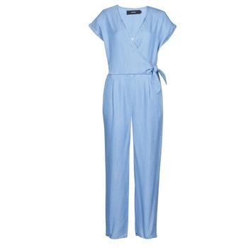 textil Dame Buksedragter / Overalls Vero Moda VMLAURA Blå / Lys