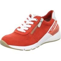 Sko Dame Lave sneakers Marco Tozzi 222373934621 Rød