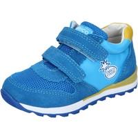 Sko Dreng Lave sneakers Enrico Coveri sneakers tessuto camoscio Blu