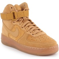 Sko Børn Høje sneakers Producent Niezdefiniowany Nike Air Force 1 High LV8 3 (GS) CK0262-700 brown