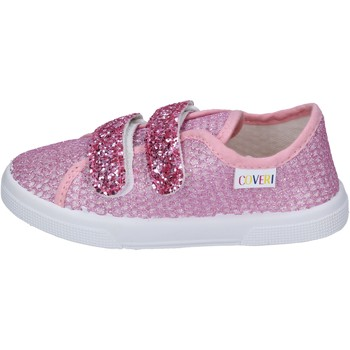 Sko Pige Sneakers Enrico Coveri sneakers tessuto Rosa