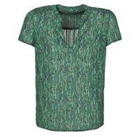 textil Dame Toppe / Bluser Ikks BR11055 Grøn