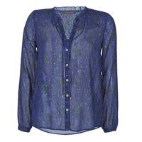 textil Dame Skjorter / Skjortebluser Ikks BR13035 Marineblå