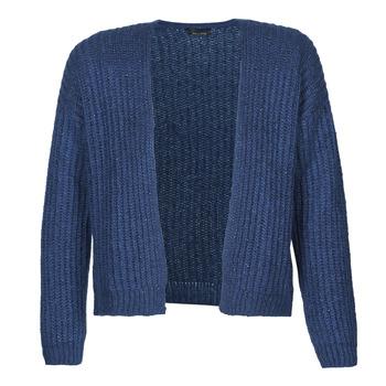textil Dame Veste / Cardigans Ikks BR17015 Marineblå