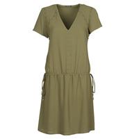 textil Dame Korte kjoler Ikks BR30015 Kaki