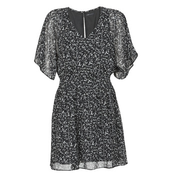 textil Dame Korte kjoler Ikks BR30075 Sort