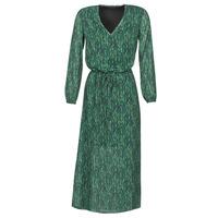 textil Dame Lange kjoler Ikks BR30095 Grøn